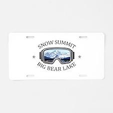 Snow Summit - Big Bear La Aluminum License Plate