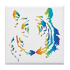 Rainbow Tiger Tile Coaster