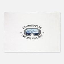 Diamond Peak - Incline Village - 5'x7'Area Rug