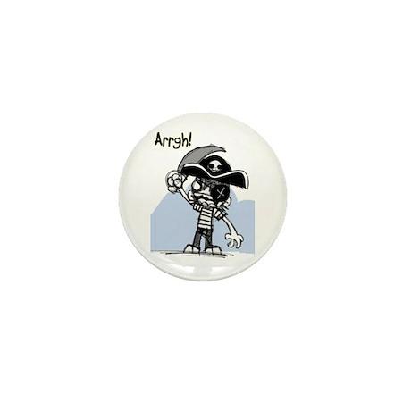 Pirate Mini Button