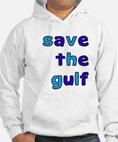 save the gulf - blue Jumper Hoody