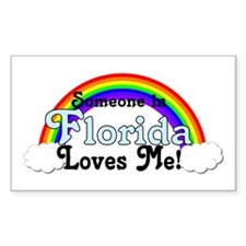 Someone in FL Loves Me Decal