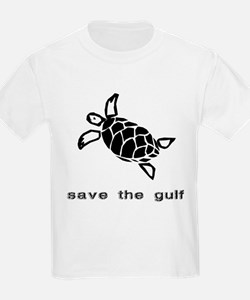 save the gulf - sea turtle 2 T-Shirt