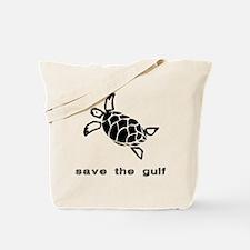 save the gulf - sea turtle 2 Tote Bag