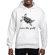 save the gulf - sea turtle di Jumper Hoody