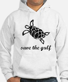 save the gulf - sea turtle di Jumper Hoody