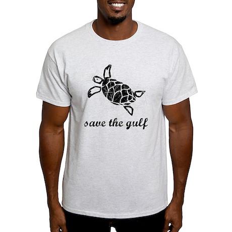 save the gulf - sea turtle di Light T-Shirt