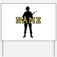 Army Custom #5 Yard Sign