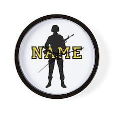 Army Custom #5 Wall Clock