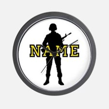 Army Custom #5 Wall Clock