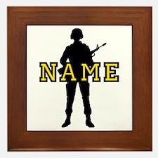 Army Custom #5 Framed Tile