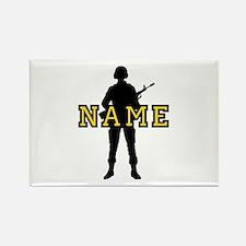 Army Custom #5 Rectangle Magnet