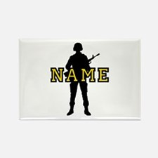 Army Custom #5 Rectangle Magnet (10 pack)