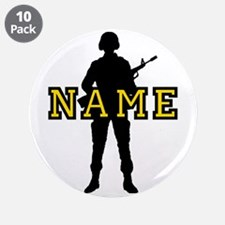 """Army Custom #5 3.5"""" Button (10 pack)"""