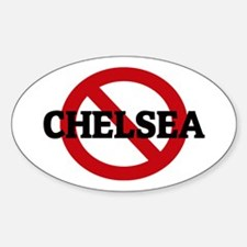 Anti-Chelsea Oval Decal