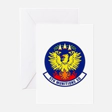 5th Munitions Squadron Greeting Cards (Package of