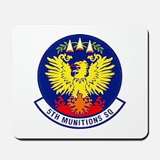 5th Munitions Squadron Mousepad