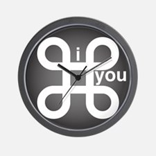 i Command you Wall Clock