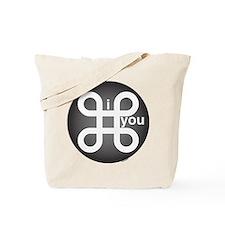 i Command you Tote Bag