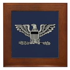 Colonel Framed Tile