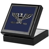 Air force colonel Keepsake Boxes