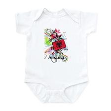 Flower Albania Infant Bodysuit