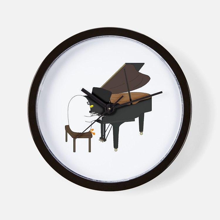 Concert Pianist Wall Clock