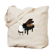 Concert Pianist Tote Bag