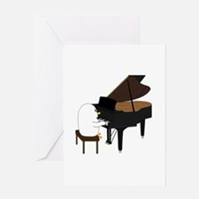 Concert Pianist Greeting Card