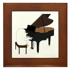 Concert Pianist Framed Tile