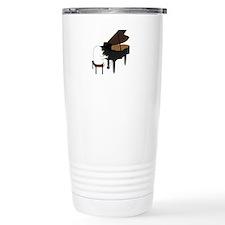 Concert Pianist Travel Coffee Mug