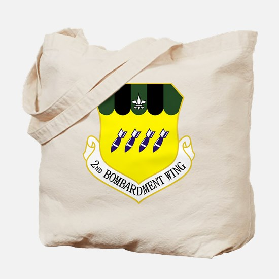 2nd Bomb Wing Tote Bag