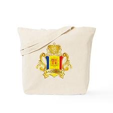 Gold Andorra Tote Bag