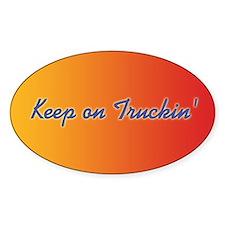 Retro Keep On Truckin Decal