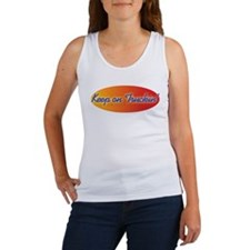 Retro Keep On Truckin Women's Tank Top
