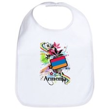 Flower Armenia Bib