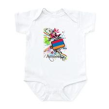 Flower Armenia Infant Bodysuit