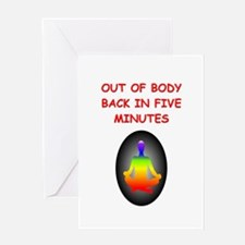 astral projection gifts Greeting Card