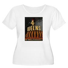 Las Vegas Downtown 4 Queens T-Shirt