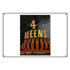 Las Vegas Downtown 4 Queens Banner