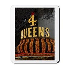 Las Vegas Downtown 4 Queens Mousepad