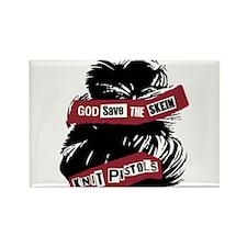 Cute Knitpistols Rectangle Magnet (10 pack)