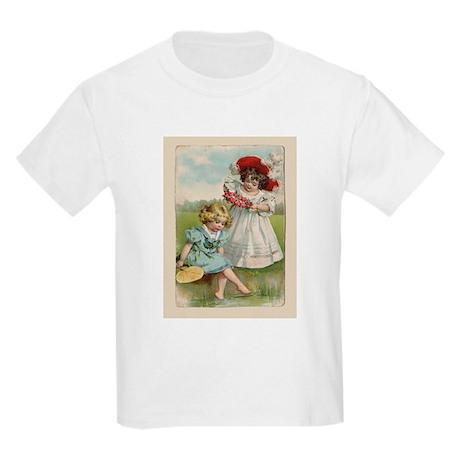 Victorian Children Kids Light T-Shirt