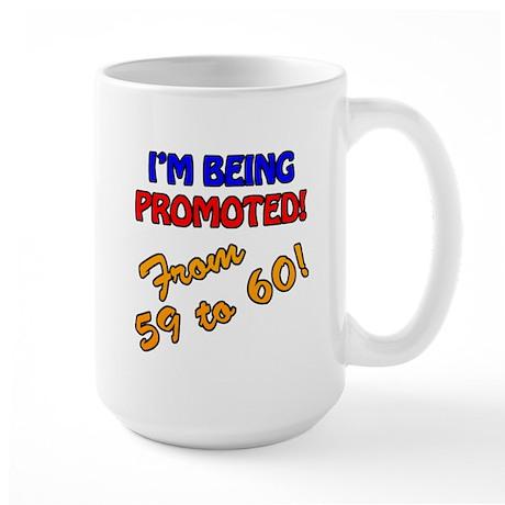 60th Bday Promotion Large Mug