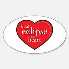 """Total Eclipse"" Sticker (Oval)"