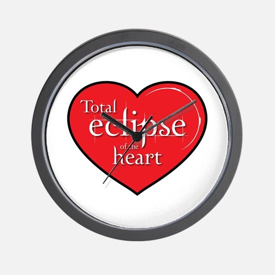 """""""Total Eclipse"""" Wall Clock"""