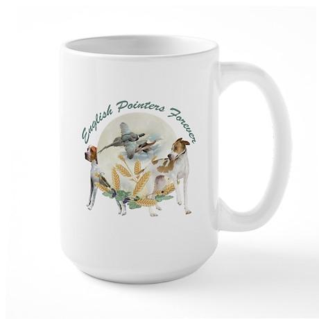 English Pointer Forever Large Mug