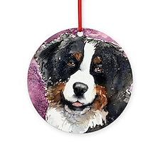 "Bernese Mt. Dog ""Eyes Of Trus Ornament (round"