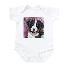 "Bernese Mt. Dog ""Eyes of Trus Infant Bodysuit"