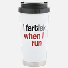 Funny I FARTlek © Stainless Steel Travel Mug
